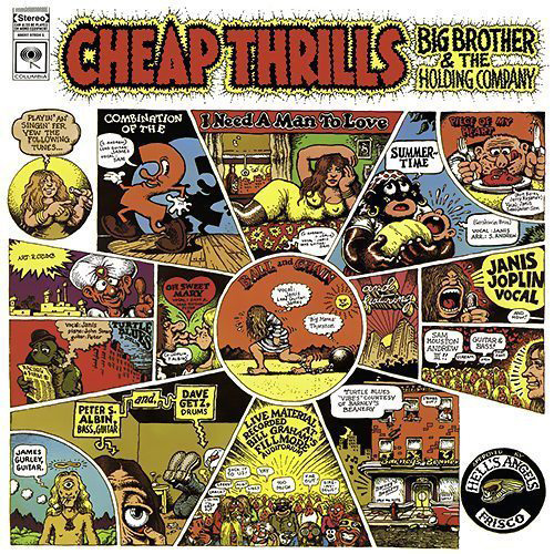 Big Brother And The Holding Company Cheap Thrills Cover