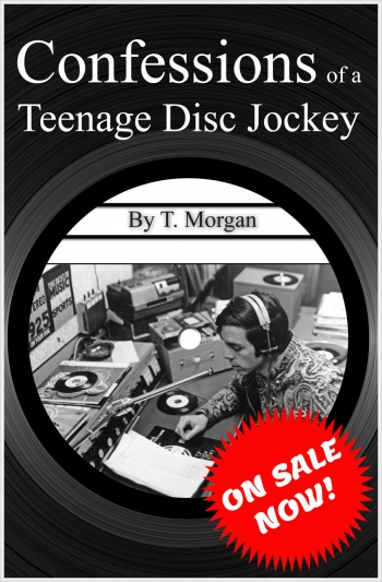 Confessions of a Teenage Disc Jockey Front Cover