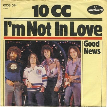 "10cc 45 cover ""I'm Not in Love"""